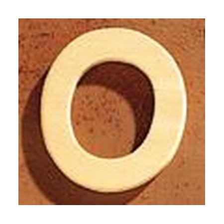 Lettre en bois 'O' 4cm