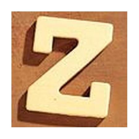 FSC Lettre en bois 'Z' 4cm