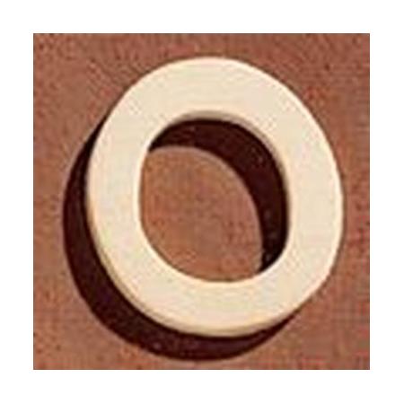 FSC Chiffre en bois '0' 4cm