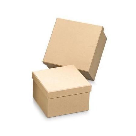 FSC Set Boîte papier carré 2pc