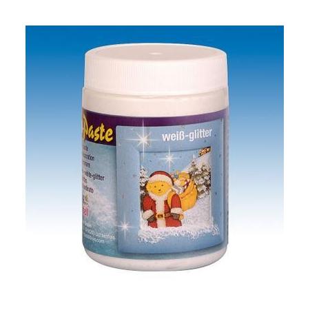 Pâte 'neige' 118 ml blanc-paillettes