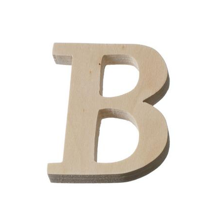 Lettres et chiffres 8cm crealisable - Grosse lettre en bois a peindre ...