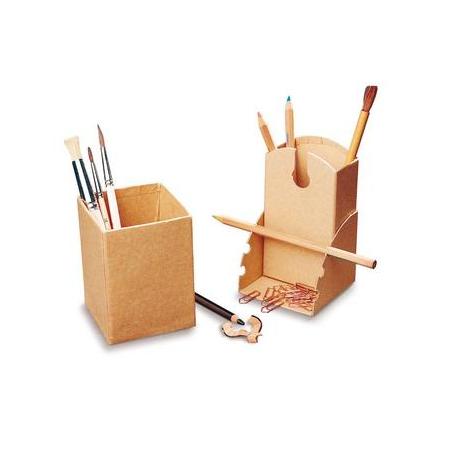 FSC Boîte pour crayons 8x8x11c