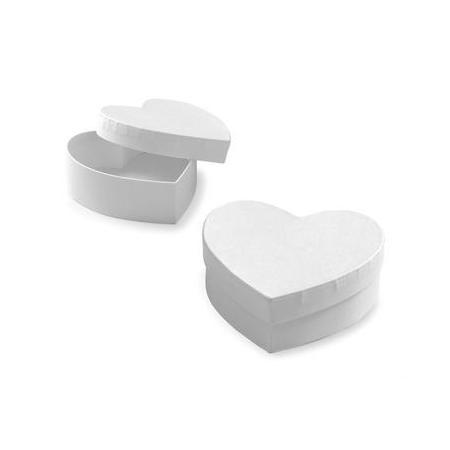 FSC Coeur en carton bl75x70x28