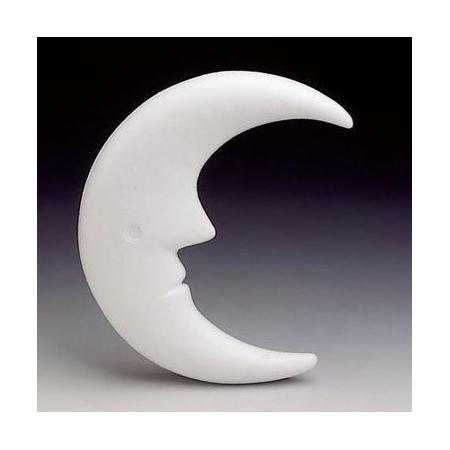 Lune en polystyrène 23cm