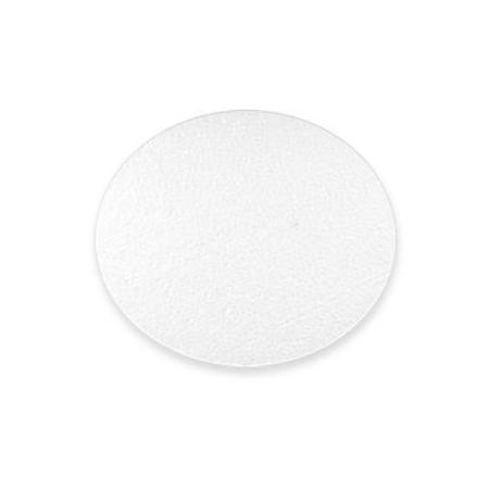 polystyrène plaque ronde 15 x 6cm