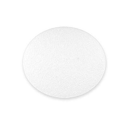 polystyrène plaque ronde 23 x 6cm