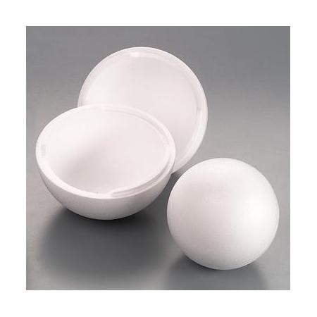 Boule en polystyrène 15cm