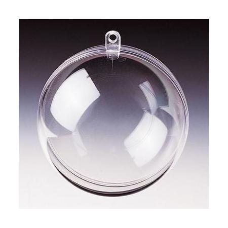 Boule divisible en plastique 8cm