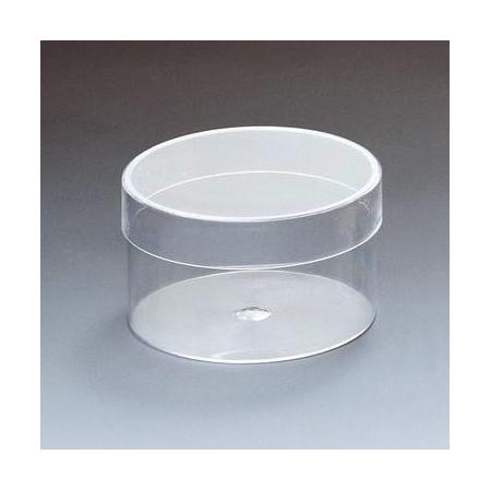 Boîte acrylique rond 4cm
