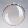 Médaillon divisible en plastique 9cm