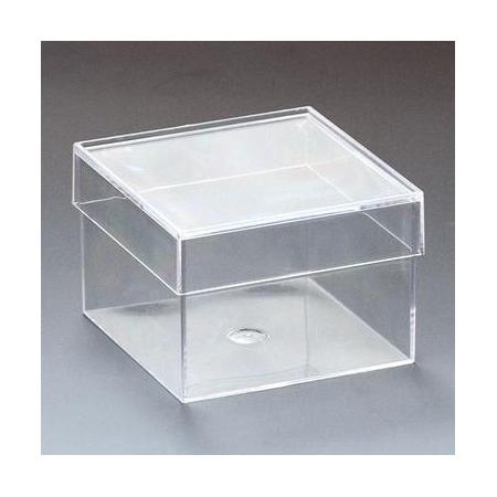 Boîte acrylique carré