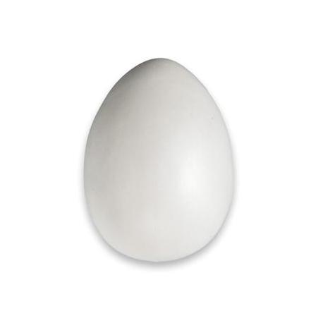 Oeuf en plastique blanc 95x140