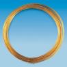 Fil métallique plaqué or 0,4mm 15m