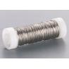 Fil métallique laqué argent 0,3mm 50m