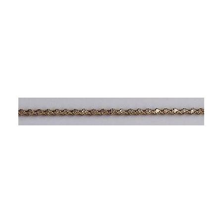 Bouillon crépé denté 1.5mm doré 3m