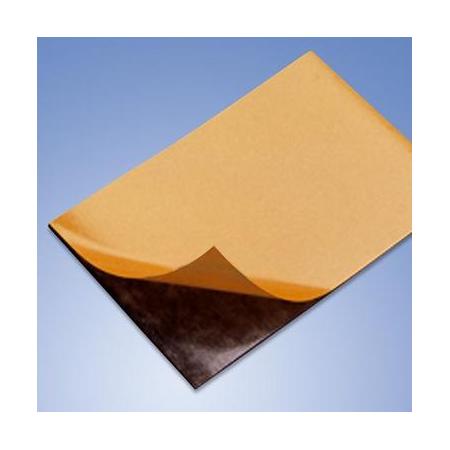 Feuille magnétique 1mm, noir 15 x 10cm