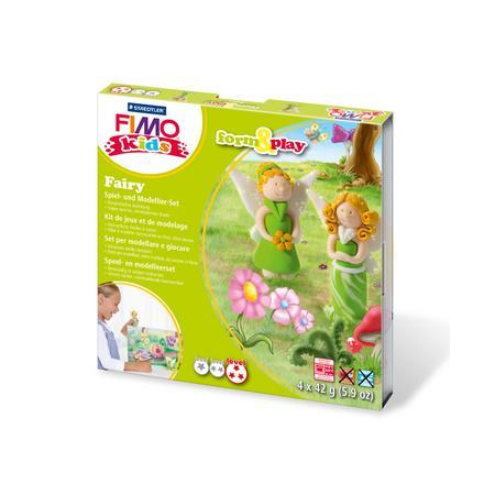 FIMO kids kit form & play, fée