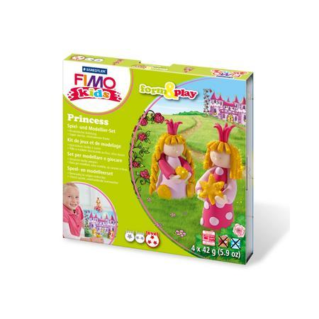 FIMO kids kit form & play, princesse