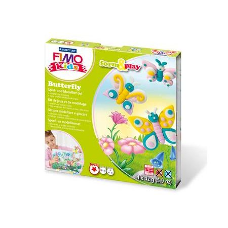 FIMO kids kit form & play, papillon
