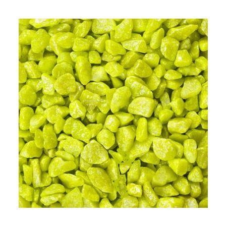 Pierres décoratives 9-13mm 500ml vert pomme