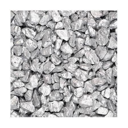 Pierres décoratives 9-13mm 500ml argent