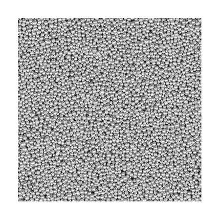 Perles De Verre 1-1,5mm 150ml argent
