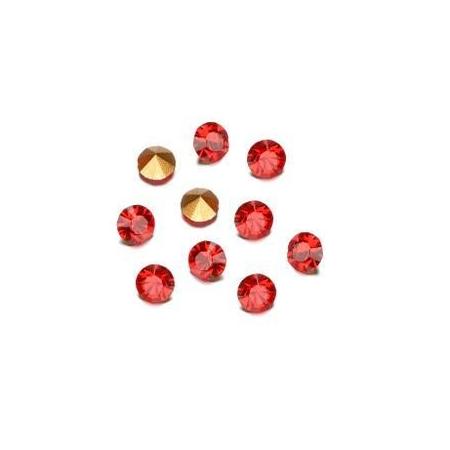 Pierres de strass 1,7mm light siam rubis SB60