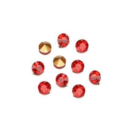 Pierres de strass 2,3-2,4mm li. siam rubis