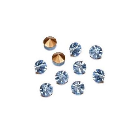 Pierres de strass 2,3-2,4mm light sapphire