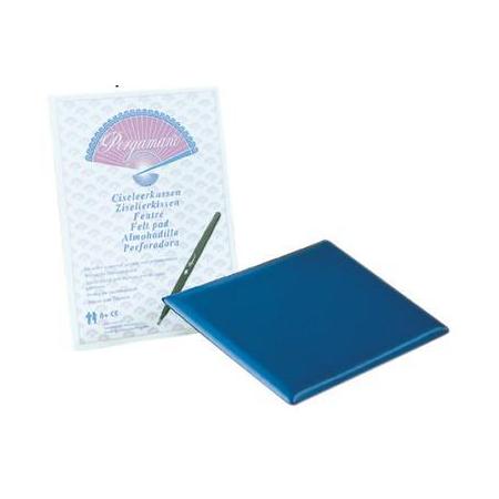 Tapis d'embossage Pergamano 21x15cm bleu