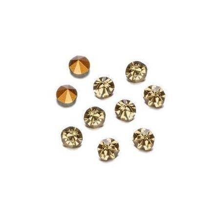 Pierres de strass 2,3-2,4mm black diamond