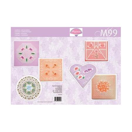 Livre de motifs M99 Été coloré