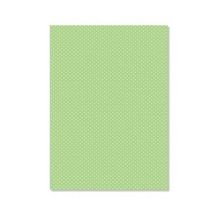 Parchemin Pergamano A4 150g/m² pois vert 5 feuilles