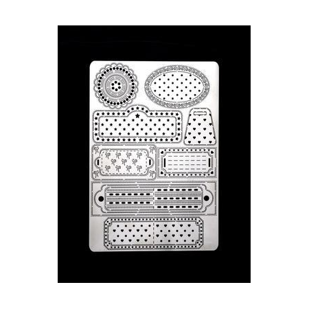 Grille Pergamano Labels 27 A5