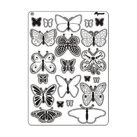 Grille Pergamano Papillon 31 A5