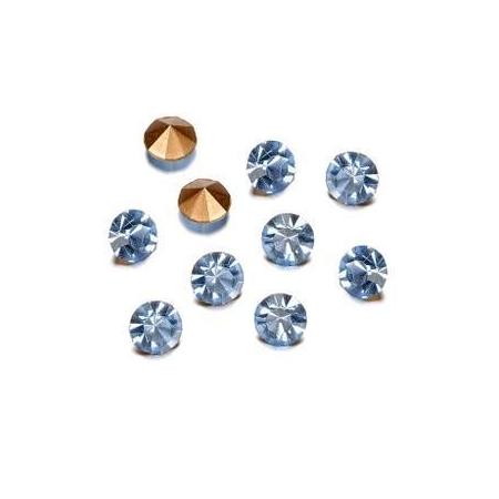 Pierres de strass 2,3-2,4mm light saphire