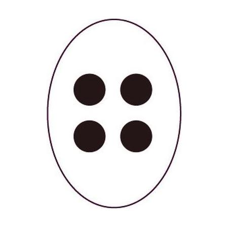 Outil Pergamano perforation 4 pointes