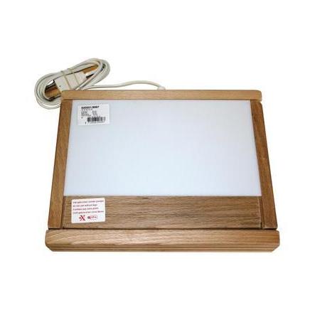 Table lumineuse de luxe 23,5x14cm