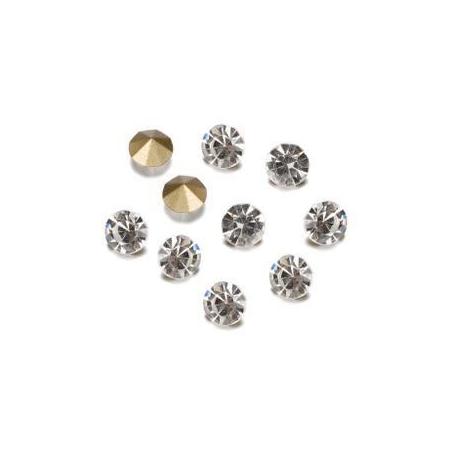 Pierres de strass 2,3-2,4mm crystal