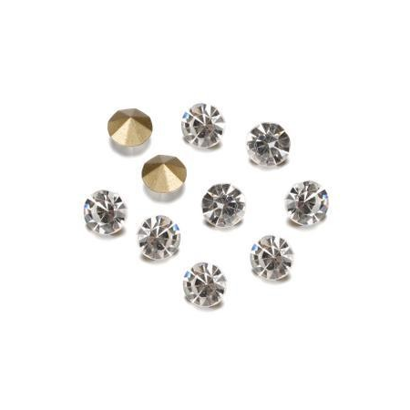 Pierres de strass 3-3,2mm crystal