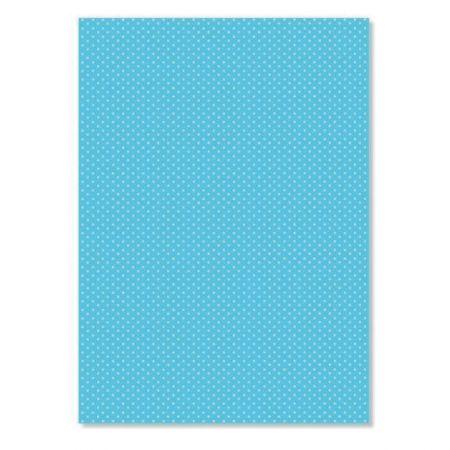 Parchemin Pergamano A4 150g/m² pois bleu 5 feuilles
