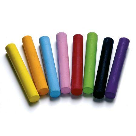 Pastels Dorso couleurs vives Pergamano 8 piŠces