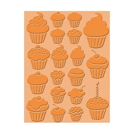 Pochoir de gaufrage Cupcakes