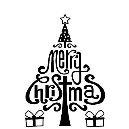 Pochoir de gaufrage Merry X-Mas1