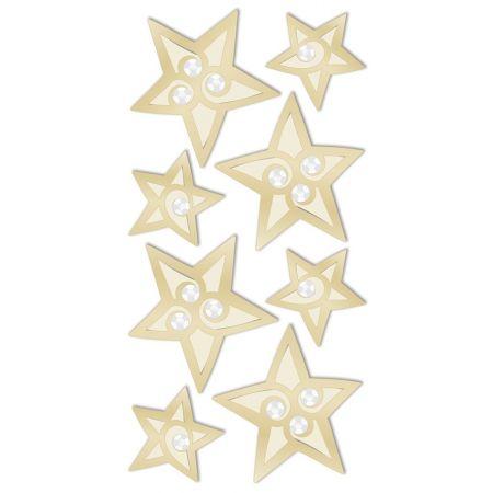 Sticker Étoiles doré