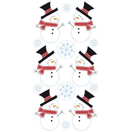 Sticker Bonhommes neige