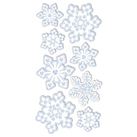 Sticker cristaux de glace