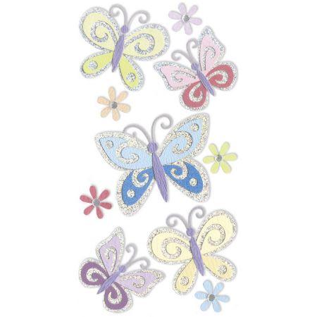 Sticker Mix Papillons