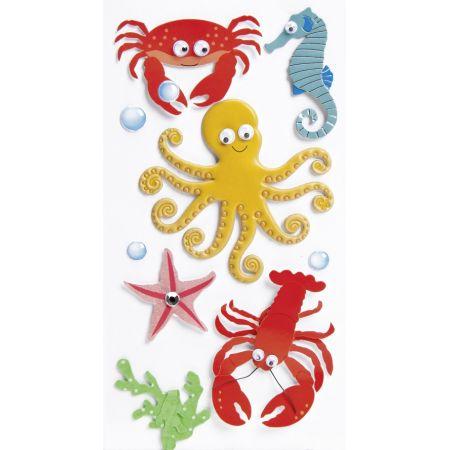 Sticker Animaux marins